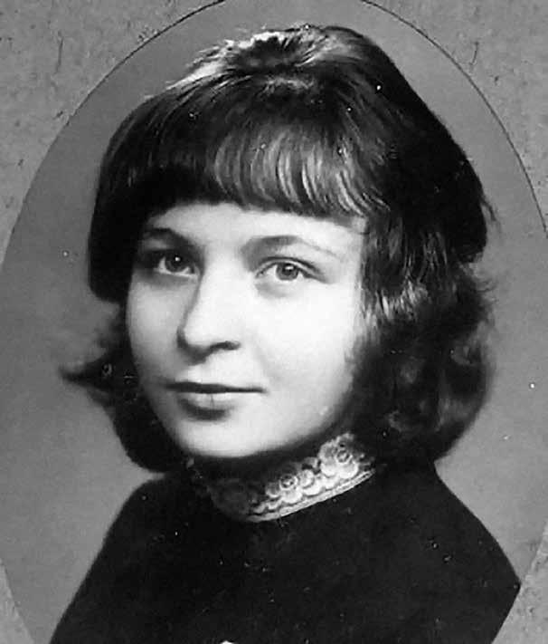 مارینا تسوتایوا در ۱۶ سالگی